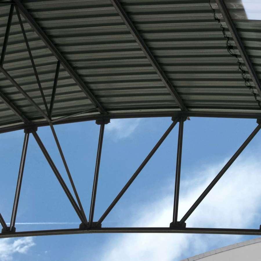 Pavilhão Industrial Detalhe - Centro Empresarial Feira